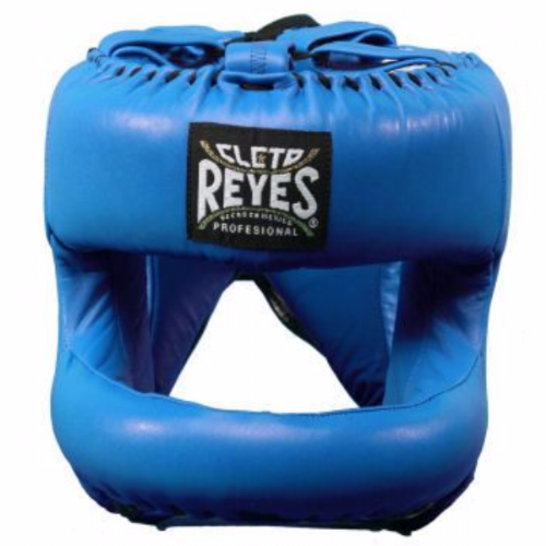 Cleto Reyes Rounded Facebar Headguard - Blue